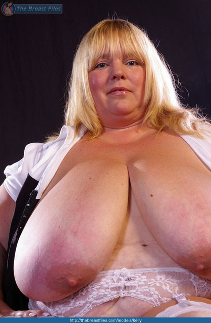 Kelly - Voluptuous Blonde Bbw With Massive Tits-1332